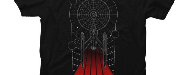 U.S.S. Enterprise t-shirt design