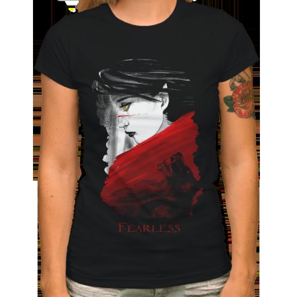 Fearless t-shirt design
