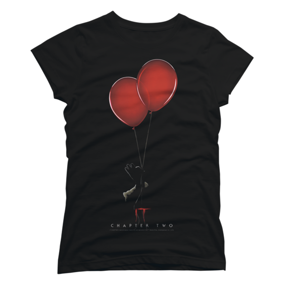 IT Chapter Two Balloons t-shirt design