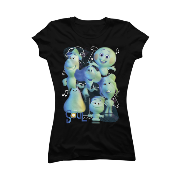 Pixar Soul - All Kinds of Souls t-shirt design