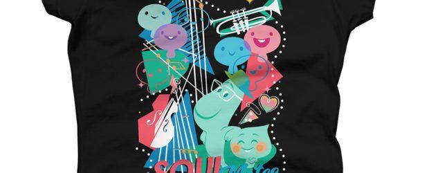 Pixar Soul Jazzy Souls t-shirt design