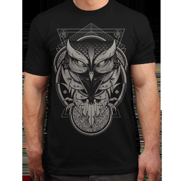 Alchemy Owl t-shirt design