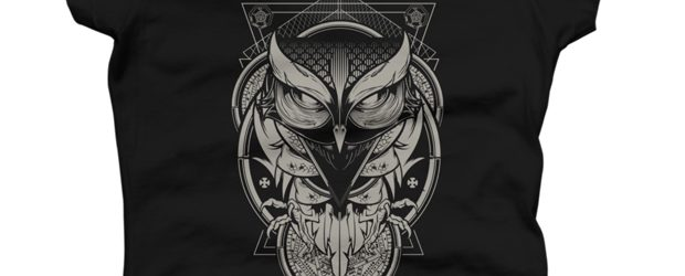Alchemy Owl t-shirt design