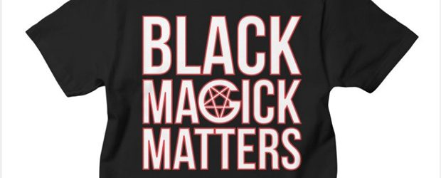 Black Magick Matters t-shirt design