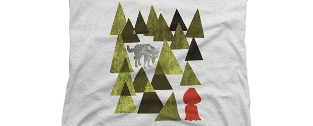 Lil Red Riding Hood t-shirt design