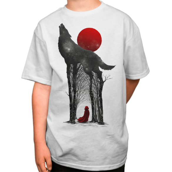 Little red t-shirt design