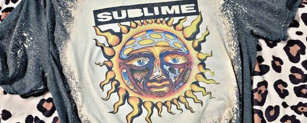Sublime Band t-shirt design