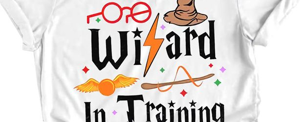 Wizard in Training t-shirts design