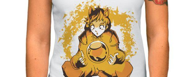 Magic ball anime t-shirt design