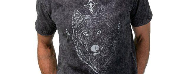 Men's Wolf T-shirt design