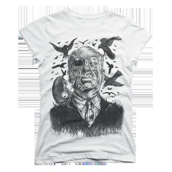 Bird Attack t-shirt design