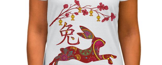 Funny Year Of Rabbit T-shirt design