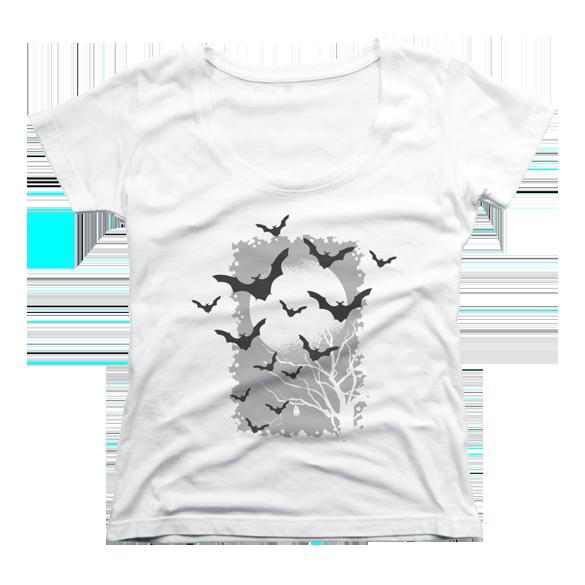 Bat night t-shirt design2