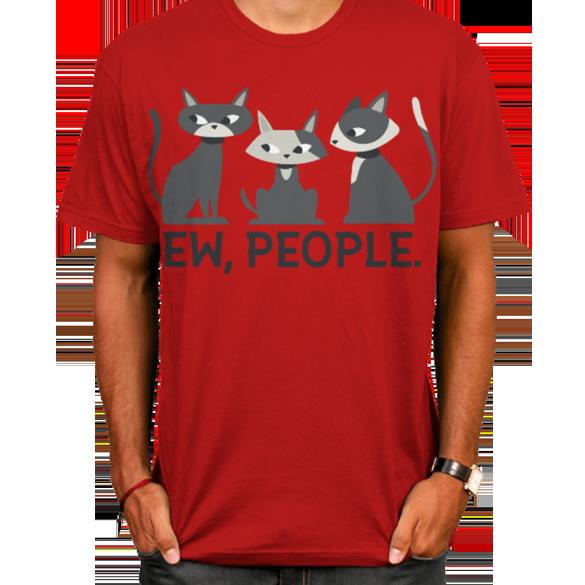 Ew, people - t-shirt design