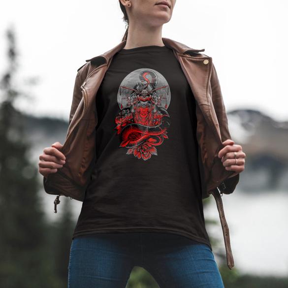 Geisha Snack t-shirt design