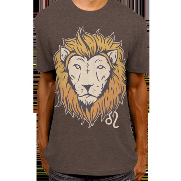 Leo zodiac sign t-shirt design