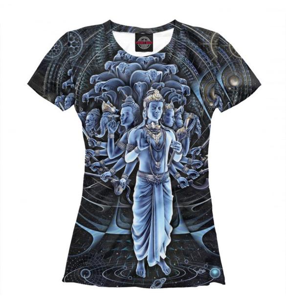 Shiva Graphic T-Shirt Design