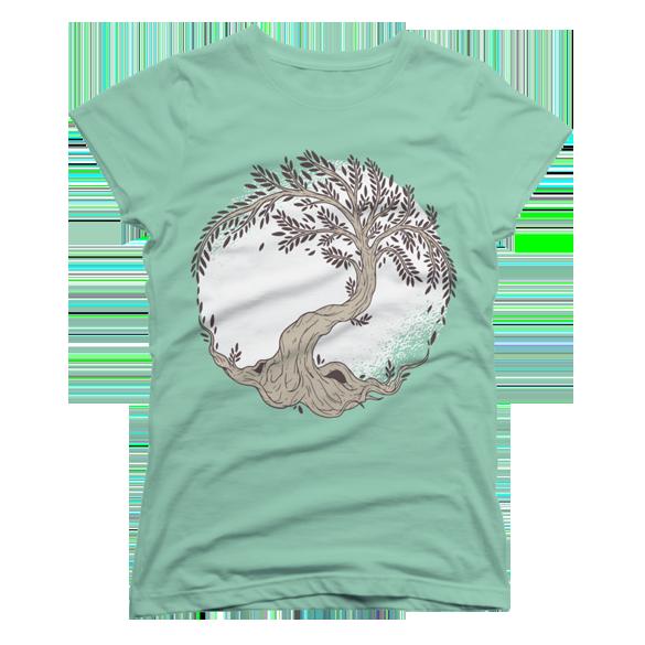Tree of life t-shirt design