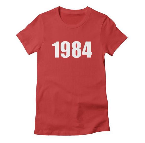1984 v.1 t-shirt design