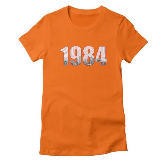 1984 v.2 t-shirt design