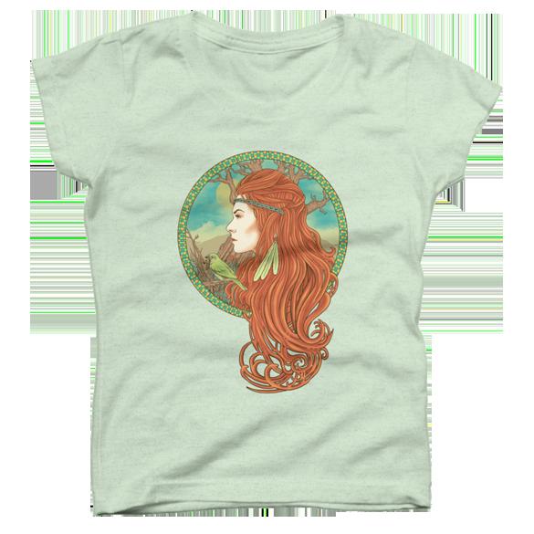 Red Hair t-shirt design