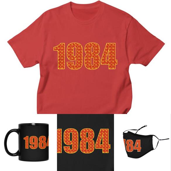 1984 v.3 t-shirt design