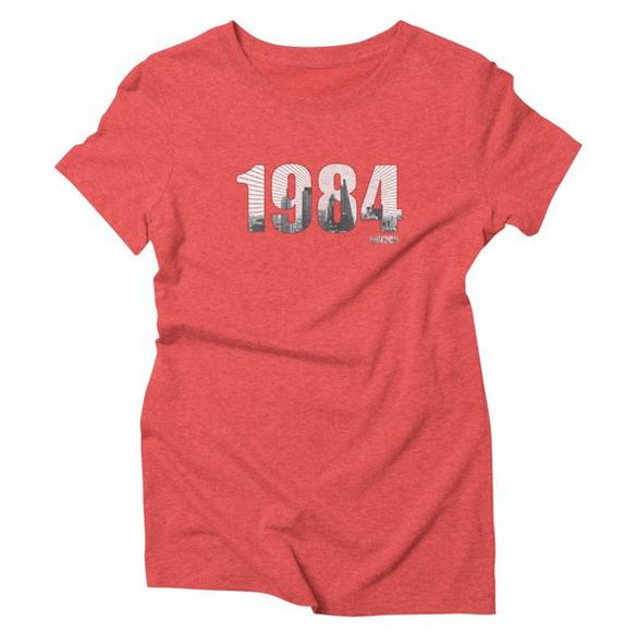 1984 v.4 London t-shirt design