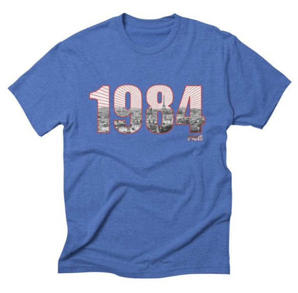 1984 v.6 t-shirt design