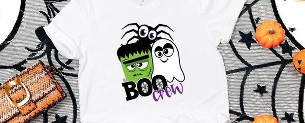 Boo Crew Halloween t-Shirt design