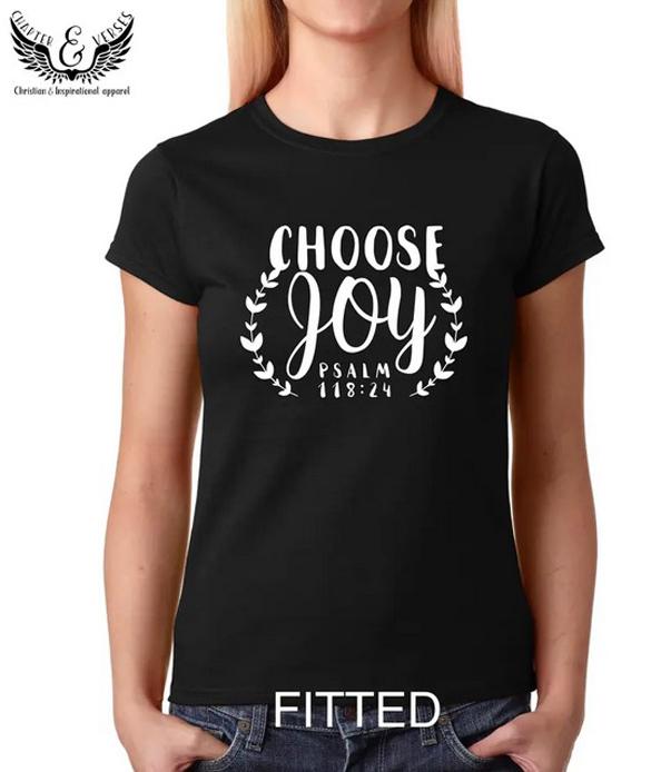 Choose Joy t-shirt design