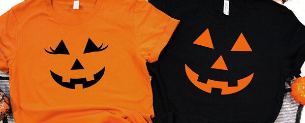 Pumpkin Face t-shirt design